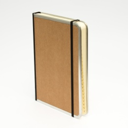 Address Book BASIC light brown | A 5, 144 sheet