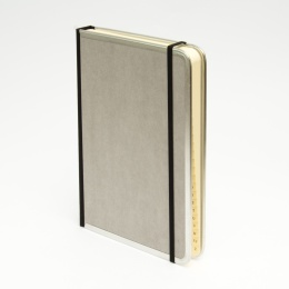 Address Book BASIC light grey | 11 x 13,5 cm, 64 sheet