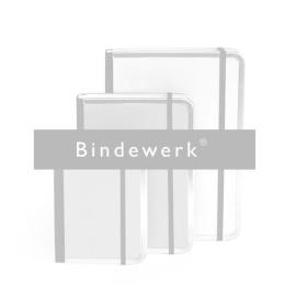 Address Book FILZDUETT felt greyish blue/elastic orange   DIN A 5, 144 sheet