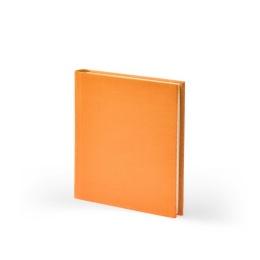 Address Book LEINEN orange | 11 x 13,5 cm, 64 sheet