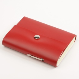 Address Book SCRIVO red | 11 x 13,5 cm, 64 sheet