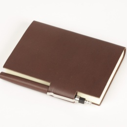 Address Book STILUS dark brown | A 5, 144 sheet