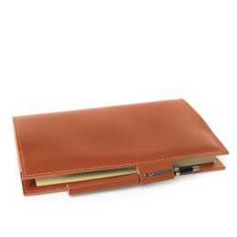 Book Cover STILUS lightbrown | A 5, 144 sheet lined