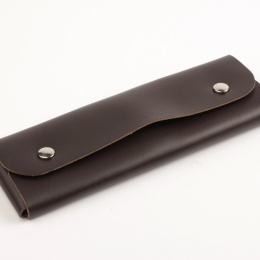 Pencil Case  dark brown