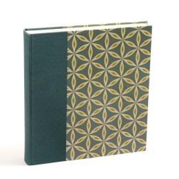 Fotoalbum ALMA Cornwall | 23 x 24,5 cm, 30 Blatt chamois