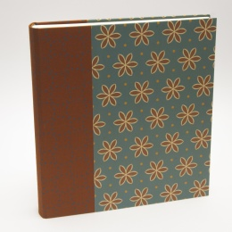Photo Album ALMA Avon Blue | 23 x 24,5 cm, 30 sheet cream