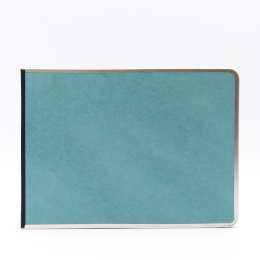 Photo Album BASIC COLOUR turquoise | 32 x 22,5 cm, 20 sheet creme
