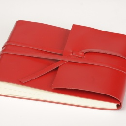Photo Album CIRCUM red | 30 x 30 cm, 30 sheet creme