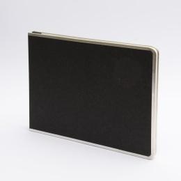 Photo Album (screwed) BASIC black | 32 x 22,5 cm, 20 sheet creme