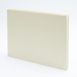 Post Bound Photo Album LEINEN creme | 32 x 22,5 cm, 20 sheet cream