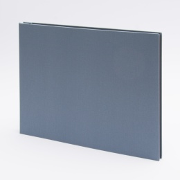 Post Bound Photo Album LEINEN night blue | 32 x 22,5 cm, 20 sheet cream