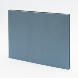 Photo Album (screwed) LEINEN night blue | 32 x 22,5 cm, 20 sheet black