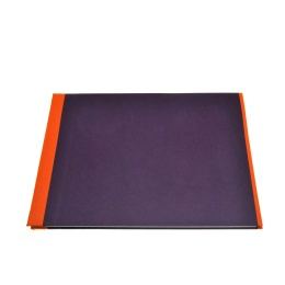 Photo Album TRUE COLOURS orange/purple | 32 x 22,5 cm, 20 sheet cream