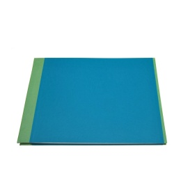 Photo Album TRUE COLOURS green/turquois | 32 x 22,5 cm, 20 sheet cream