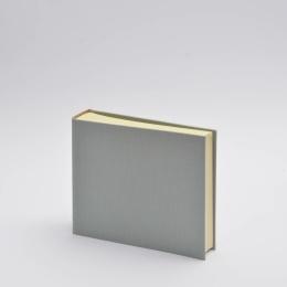 Photo Album LEINEN light grey | 23 x 24,5 cm, 30 sheet cream