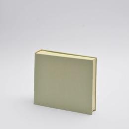 Photo Album LEINEN celery green | 23 x 24,5 cm, 30 sheet cream