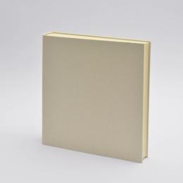 Photo Album LEINEN creme | 30 x 30 cm, 30 sheet cream