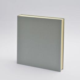 Photo Album LEINEN light grey | 30 x 30 cm, 30 sheet cream