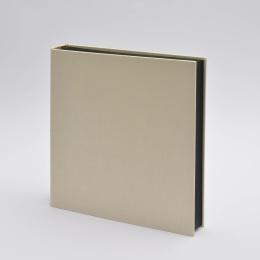 Photo Album LEINEN creme | 30 x 30 cm, 30 sheet black