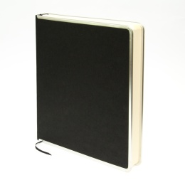 Gästebuch BASIC schwarz   24 x 28 cm, 96 Blatt blanko