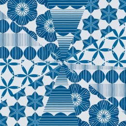 Wrapping Paper Mix MITSUKO INDIGO