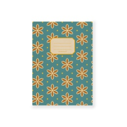 Exercise Book ALMA (size A5, lined) Avon Blue