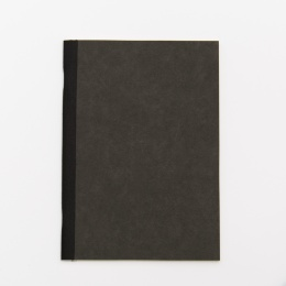 Exercise Book ILLUSTRATOR black | A 5, 32 sheet blank
