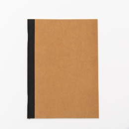 Exercise Book ILLUSTRATOR brown | A 5, 32 sheet blank