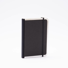 Diary BASIC black | 12 x 16,5 cm,  1 week/double page