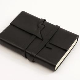 Diary CIRCUM black | 12 x 16,5 cm,  1 week/double page