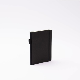 Diary CONTEMPORARY black | 12 x 16,5 cm,  1 week/double page
