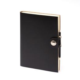 Diary LEFA black | 17 x 24 cm,  1 week/double page