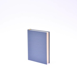 Diary LEINEN night blue | 12 x 16,5 cm,  1 day/page