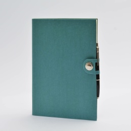 Diary NOX turquoise | 17 x 24 cm,  1 week/double page