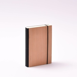 Daily Planner 2021 PURIST WOOD Cherry | 9 x 13 cm,  1 day/page