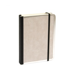 Diary BASIC light grey | 8 x 12,5 cm,  1 week/double page