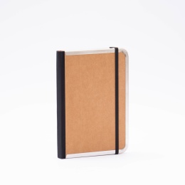 Diary BASIC light brown | 12 x 16,5 cm,  1 week/double page
