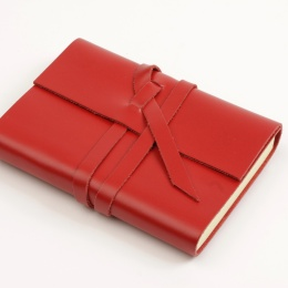 Diary CIRCUM red | 12 x 16,5 cm,  1 week/double page