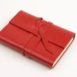 Kalender CIRCUM rot | 12 x 16,5 cm,  1 Woche/Doppelseite