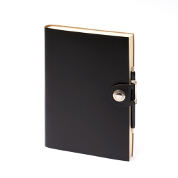 Diary LEFA black | 8 x 12,5 cm,  1 week/double page