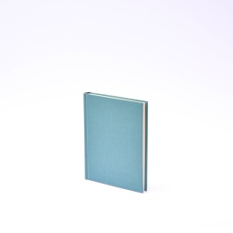 Agenda LEINEN jade | 12 x 16,5 cm,  1 week/double page