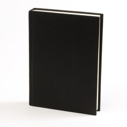 Diary LEINEN black | 8 x 12,5 cm,  1 week/double page