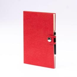Week Planner 2022 NOX red | 17 x 24 cm,  1 week/double page