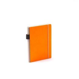 Diary NEW GENERATION orange | 12 x 16,5 cm,  1 week/double page