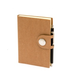 Diary NOX light brown | 12 x 16,5 cm,  1 week/double page