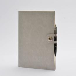 Diary NOX grau | 17 x 24 cm,  1 week/double page
