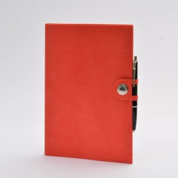 Diary NOX red | 17 x 24 cm,  1 week/double page