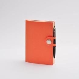 Diary NOX orange | 12 x 16,5 cm,  1 week/double page