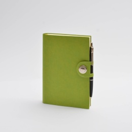 Diary NOX light green | 12 x 16,5 cm,  1 week/double page
