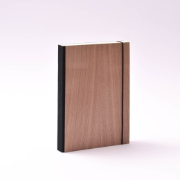 Diary PURIST WOOD Nut | DIN A 5,  1 day/page